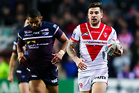 Picture by Alex Whitehead/SWpix.com - 16/03/2018 - Rugby League - Betfred Super League - St Helens v Leeds Rhinos - Totally Wicked Stadium, St Helens, England - St Helens' Mark Percival.