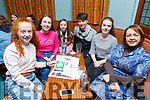 Supporting the Tralee Musical Society Quiz in Na Gaeil on Friday night.<br /> L-r, Emily Heaslip, Ella Smith, Ava Boyd, Matthew Dineen, Ciara O'Mahoney and Catherine Smith.
