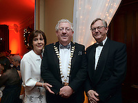 Pictured at the Kerry Branch of IHF Ball in the Muckross Park Hotel at the weekend were Joe and Rosie Dolan, The Bush Hotel, Carrick-on-Shannon and President of the IHF with Tim Fenn, CEO, IHF.<br /> Photo: Don MacMonagle<br /> <br /> Repro free photo