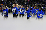 November 12, 2016 - Colorado Springs, Colorado, U.S. -  The Air Force Academy dance team prior to the NCAA Football game between the Colorado State University Rams and the Air Force Academy Falcons, Falcon Stadium, U.S. Air Force Academy, Colorado Springs, Colorado.  Air Force defeats Colorado State 49-46.