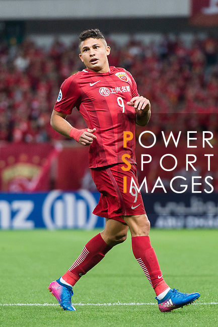 Shanghai FC Forward Elkeson De Oliveira Cardoso in action during the AFC Champions League 2017 Round of 16 match between Shanghai SIPG FC (CHN) vs Jiangsu FC (CHN) at the Shanghai Stadium on 24 May 2017 in Shanghai, China. Photo by Marcio Rodrigo Machado / Power Sport Images