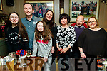Chloe, Eric, Nicola, Elaine and Theresa Lehane with TJ Cronin  and Helen Cronin, enjoying a night out at the Brogue Inn, Tralee on Saturday night last.