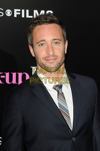 """ALEX O'LOUGHLIN .arriving at the premiere of CBS Films' """"The Back-up Plan"""" at the Regency Village Theatre in Westwood, California, USA, April 21st 2010..arrivals portrait headshot beard facial hair tie black suit .CAP/ROT.©Lee Roth/Capital Pictures"""