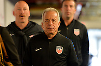 Harrison, N.J. - Friday September 01, 2017: Dave Sarachan during a 2017 FIFA World Cup Qualifying (WCQ) round match between the men's national teams of the United States (USA) and Costa Rica (CRC) at Red Bull Arena.