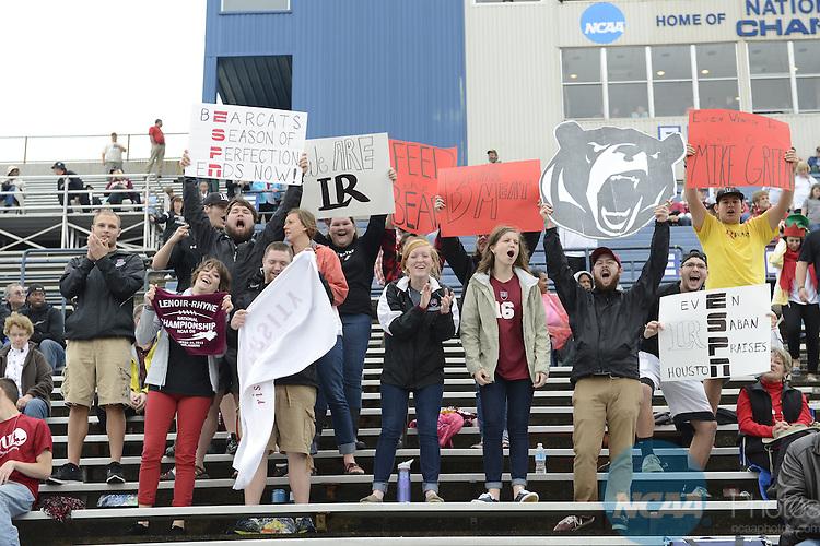 21 DEC 2013:  Lenoir-Rhyne College takes on Northwest Missouri State University during the Division II Men's Football Championship held at Braly Municipal Stadium in Florence, AL.  Lenoir-Rhyne defeated Northwest Missouri State 22-19 to win the national title.  Justin Tafoya/NCAA Photos