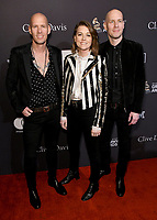 09 February 2019 - Beverly Hills, California - Tim Hanseroth, Brandi Carlile, Ralph Hanseroth. The Recording Academy And Clive Davis' 2019 Pre-GRAMMY Gala held at the Beverly Hilton Hotel.   <br /> CAP/ADM/BT<br /> ©BT/ADM/Capital Pictures