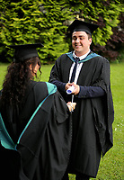 Tuesday 04 July 2017<br /> UWTSD Graduation ceremony at the University of Wales Trinity Saint Davids, Carmarthen Campus, Wales, UK