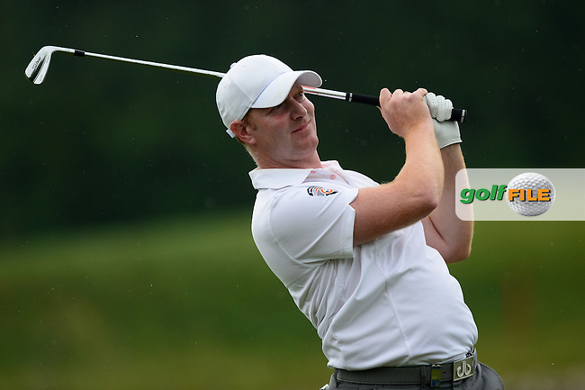 Richard McEvoy of England during Round 4 of the Lyoness Open, Diamond Country Club, Atzenbrugg, Austria. 12/06/2016<br /> Picture: Richard Martin-Roberts / Golffile<br /> <br /> All photos usage must carry mandatory copyright credit (&copy; Golffile   Richard Martin- Roberts)