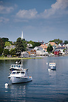 A summer day along the Piscataqua River at Portsmouth Harbor, Portsmouth, NH