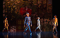 London, UK. 19.05.2014. Rambert presents Lucinda Childs' FOUR ELEMENTS, as part of their London Spring Season 2014, at Sadler's Wells. Picture shows: l to r - Antonette Dayrit, Simone Damberg-Wurtz, Hannah Rudd and Estela Merlos. Photograph © Jane Hobson.