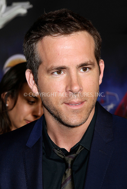 WWW.ACEPIXS.COM<br /> <br /> July 9 2013, New York City<br /> <br /> Actor Ryan Reynolds arriving at the 'Turbo' Premiere at AMC Loews Lincoln Square on July 9, 2013 in New York City. <br /> <br /> <br /> By Line: Nancy Rivera/ACE Pictures<br /> <br /> <br /> ACE Pictures, Inc.<br /> tel: 646 769 0430<br /> Email: info@acepixs.com<br /> www.acepixs.com