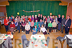 Eileen McGillicuddy celebrated her 90th birthday party in the Parish Hall Caherdaniel on Friday afternoon last with family and friends, Eileen pictured seated 5th from right.