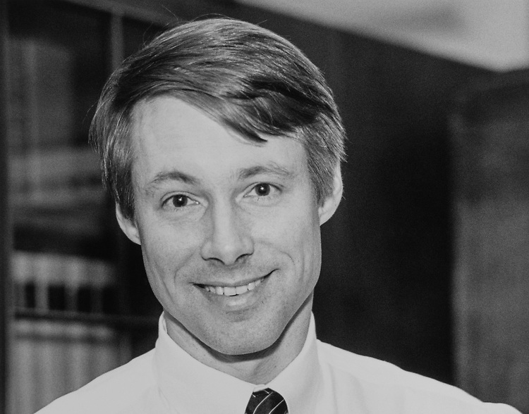Portrait of Rep. Fred Upton, R-Mich., on April 2, 1989. (Photo by Maureen Keating/CQ Roll Call via Getty Images)