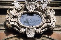Europe/Italie/Emilie-Romagne/Bologne :Palais de l'Archiginnasio - Détail de la galerie XVI° siècle