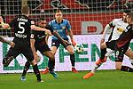 10.03.2018, BayArena, Leverkusen , GER, 1.FBL., Bayer 04 Leverkusen vs. Borussia Moenchengladbach<br /> im Bild / picture shows: <br /> es wird eng vor dem tor von Bernd Leno Torwart (Leverkusen #1), <br /> <br /> <br /> Foto &copy; nordphoto / Meuter