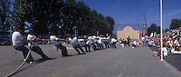 Europe/France/Aquitaine/64/Pyrénées-Atlantiques/Saint-Palais : Festival Force Basque - Tir à la corde