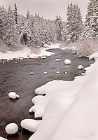 Winter Morning, Truckee River