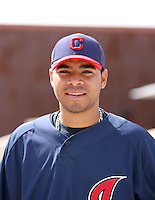 Jeanmar Gomez. Cleveland Indians spring training workouts at their complex in Goodyear, AZ - 03/06/2010.Photo by:  Bill Mitchell/Four Seam Images.