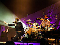 Tom Chaplin and Richard Hughes of Keane plays The Boston House of Blues in their tour opening performance.