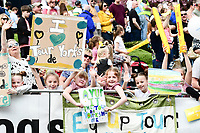 Picture by SWpix.com - 04/05/2018 - Cycling - 2018 Tour de Yorkshire - Stage 2: Barnsley to Ilkley - Yorkshire, England - Fans and supporters at the Men's roll out in Barnsley.