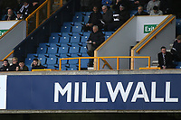 The area reserved for visiting Directors was empty at Millwall. No sign of the new Barnsley Owners during Millwall vs Barnsley, Emirates FA Cup Football at The Den on 6th January 2018