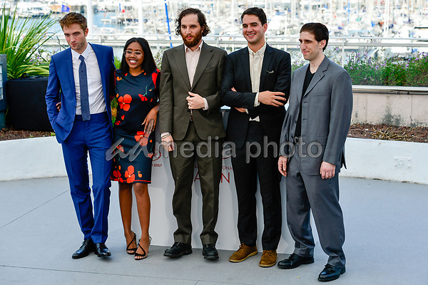 "25 May 2017 - Cannes, France - Robert Pattinson, Taliah Webster, Josh Safdie, Benny Safdie, Bud. ""Good Time"" Photocall - The 70th Annual Cannes Film Festival. Photo Credit: Jan Sauerwein/face to face/AdMedia"