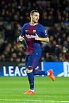 UEFA Champions League 2017/2018 - Matchday 6.<br /> FC Barcelona vs Sporting Clube de Portugal: 2-0.<br /> Thomas Vermaelen.