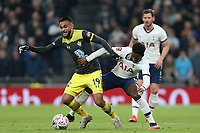 Ryan Sessegnon of Tottenham Hotspur and Sofiane Boufal of Southampton during Tottenham Hotspur vs Southampton, Emirates FA Cup Football at Tottenham Hotspur Stadium on 5th February 2020