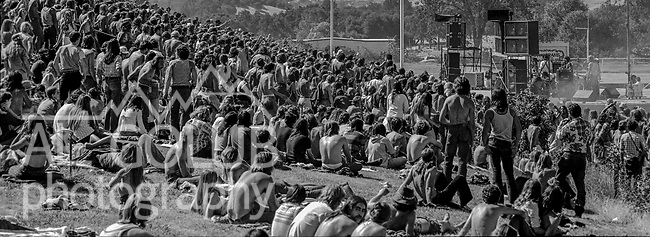 The first Mountain Aire Renaissance Faire and Music Festival featuring Dave Mason, Elvin Bishop, Livingston Taylor and Dan Hicks was presented by Rock'n Chair productions at the Calaveras County Fairgrounds, Angles Camp, California on June 15, 1974.  Images by Al Golub/ Golub Photography
