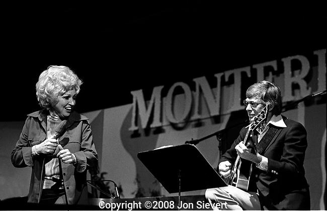 Anita O'Day, Mundell Lowe.Monterey Jazz Festival, 9/21/74.14-2-21