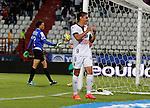 Manizales- Once Caldas venció 3 goles por 0 a Alianza Petrolera, en el partido válido por la novena fecha del Torneo Clausura 2014, desarrollado el 13 de septiembre en el estadio Palogrande.