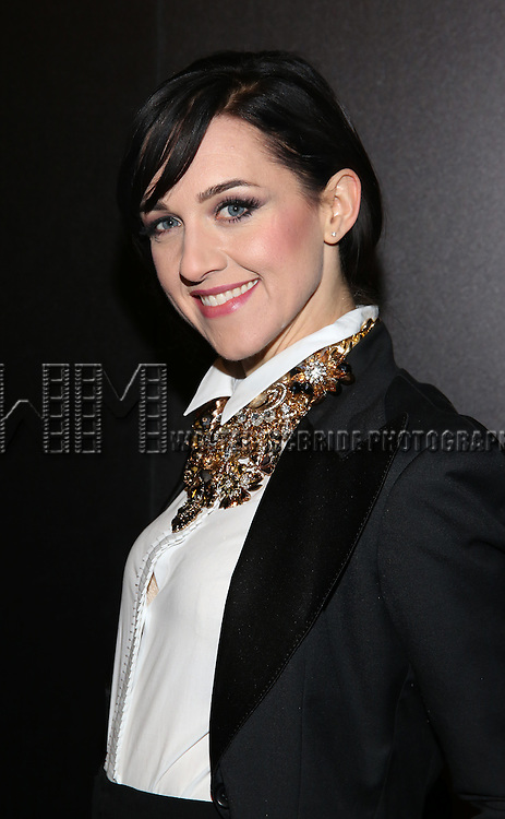 Lena Hall attends the Opening Night After Party for Andrew Lloyd Webber's 'Sunset Boulevard' at the Cipriani on February 9, 2017 in New York City.