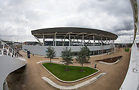 General view outside of the Man City Academy Stadium ahead of the International Friendly match between Argentina and Italy at the Etihad Stadium, Manchester, England on 23 March 2018. Photo by Andy Rowland.