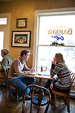 USA, Colorado, Aspen, interior of the Main Street Bakery on Main Street in downtown Aspen