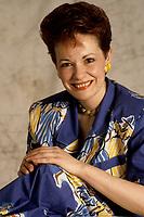 EXCLUSIVE FILE PHOTO : Fabienne Thibault<br /> <br /> , circa 1985<br /> <br /> <br /> PHOTO : Harold Beaulieu<br />  - Agence Quebec Presse