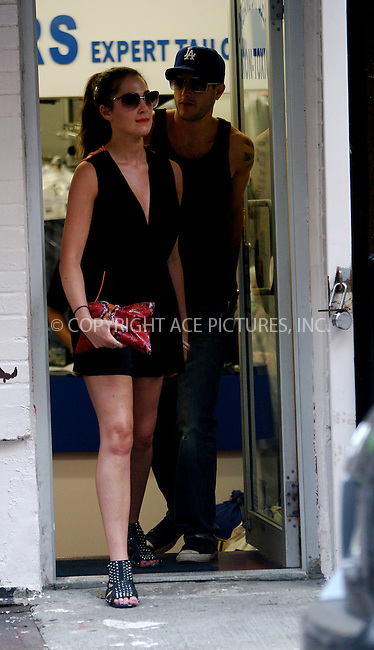 WWW.ACEPIXS.COM . . . . .  ....July 12 2010, New York City....'The City' star Roxy Olin seen walking around Soho with her boyfriend on July 12 2010 in New York City....Please byline: NANCY RIVERA- ACEPIXS.COM.... *** ***..Ace Pictures, Inc:  ..Tel: 646 769 0430..e-mail: info@acepixs.com..web: http://www.acepixs.com