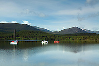 The Cairngorms from Loch Morlich, Cairngorm National Park, Badenoch & Speyside