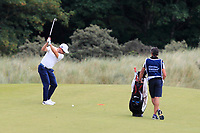 Mikko Korhonen (FIN) on the 1st during Round 4 of the Aberdeen Standard Investments Scottish Open 2019 at The Renaissance Club, North Berwick, Scotland on Sunday 14th July 2019.<br /> Picture:  Thos Caffrey / Golffile<br /> <br /> All photos usage must carry mandatory copyright credit (© Golffile | Thos Caffrey)