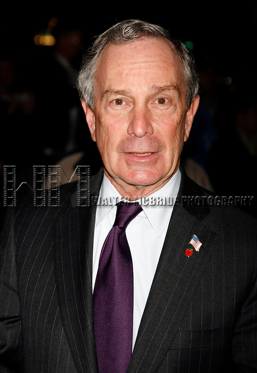Mayor Michael Bloomberg. Attending the Showtime & Broadway Cares Equity Fights Aids Benefit Screening of LIZA WITH A Z at the Ziegfield Theatre in New York City..Liza Minnelli celebrated her 60th Birthday with the Restoration of the 1972 classic television Concert event directed by Bob Fosse. After the screening MAC VIVA GLAM presented a check for $25,000..March 13, 2006.© Walter McBride /