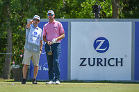 Sean O'Hair (USA) looks over his tee shot on 18 during Round 2 of the Zurich Classic of New Orl, TPC Louisiana, Avondale, Louisiana, USA. 4/27/2018.<br /> Picture: Golffile | Ken Murray<br /> <br /> <br /> All photo usage must carry mandatory copyright credit (&copy; Golffile | Ken Murray)