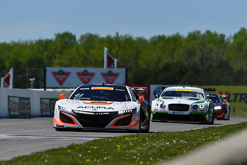Pirelli World Challenge<br /> Victoria Day SpeedFest Weekend<br /> Canadian Tire Motorsport Park, Mosport, ON CAN Saturday 20 May 2017<br /> Ryan Eversley/ Tom Dyer<br /> World Copyright: Richard Dole/LAT Images<br /> ref: Digital Image RD_CTMP_PWC17067