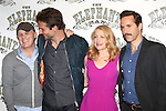 Bradley Cooper, Director Scott Ellis, Patricia Clarkson and Alessandro Nivola attends the 'The Elephant Man' Broadway Cast photo call at Sardi's on October 21, 2014 in New York City.