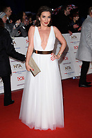 LONDON, UK. January 22, 2019: Candice Brown at the National TV Awards 2019 at the O2 Arena, London.<br /> Picture: Steve Vas/Featureflash