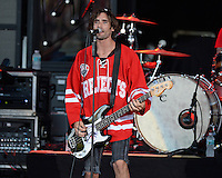 WEST PALM BEACH, FL - AUGUST 05: All American Rejects in concert at The Perfect Vodka Amphitheater on August 5, 2016 in West Palm Beach Florida. Credit: mpi04/MediaPunch