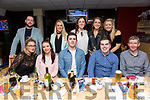 GMHD Insurances, Killarney Staff enjoying a night out at the kingdom Greyhound Stadium on Friday Pictured front l-r Chaz Maloney, Laura Cunningham, Lorcan Daly, Frank Donoghue, Denis Murphy Back l-r Fergal Smith, Kay Mcauliffe, Berni Cronin, Aisling Cronin and Frances McCarthy