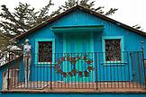 USA, California, Big Sur, Esalen, the Art Barn artist studio at the Esalen Institute