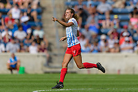 Bridgeview, IL - Saturday July 22, 2017: Morgan Proffitt during a regular season National Women's Soccer League (NWSL) match between the Chicago Red Stars and the Orlando Pride at Toyota Park. The Red Stars won 2-1.