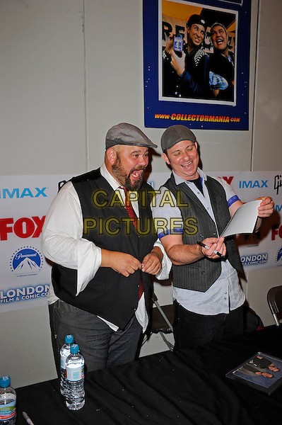 LONDON, ENGLAND - JULY 12: Paul Schrier and Jason Narvy attending London Film and Comic Con 2014 at Earls Court on July 12, 2014 in London, England.<br /> CAP/MAR<br /> &copy; Martin Harris/Capital Pictures