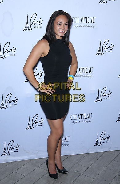 07 July 2017 - Las Vegas, Nevada - Michelle Waterson. UFC fighter Michelle Waterson celebrates the 2017 UFC International Fight Week with a rooftop after-party at Chateau Nightclub &amp; Rooftop inside Paris Las Vegas. <br /> CAP/ADM/MJT<br /> &copy; MJT/ADM/Capital Pictures