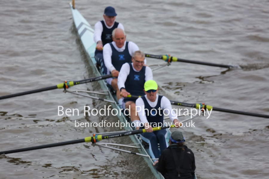 Crew: 186  Weybridge  G 4+<br /> <br /> Veteran Fours Head 2018<br /> <br /> To purchase this photo, or to see pricing information for Prints and Downloads, click the blue 'Add to Cart' button at the top-right of the page.